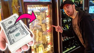 This Arcade Machine Has Tons Of Real Money inside!? ArcadeJackpotPro