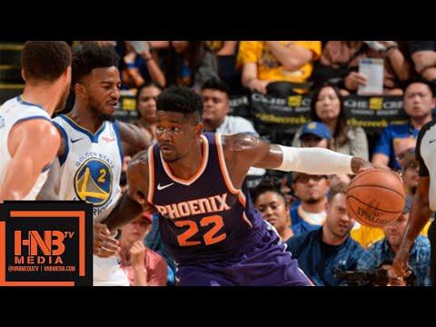 Golden State Warriors vs Phoenix Suns 1st Half Highlights | 10.08.2018, NBA Preseason