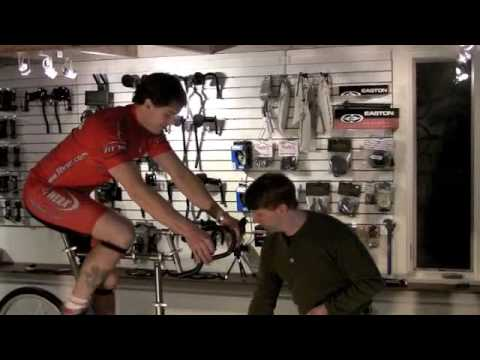 Watch a video on what a professional bike fitting is and how to find the best products for you!