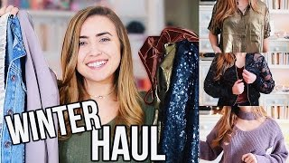 HUGE WINTER TRY ON HAUL 2017 | My Biggest Haul Ever!