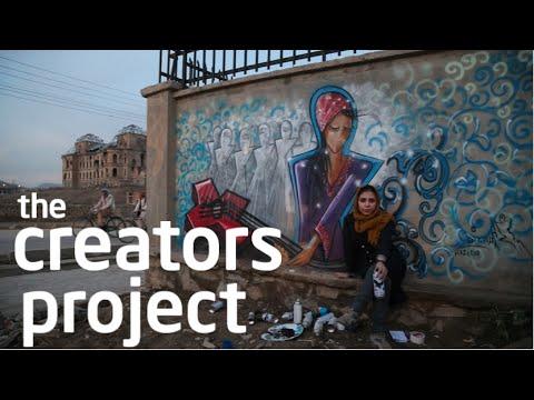 Kabul's Female Graffiti Master | The Creators Project Meets Shamsia Hassani
