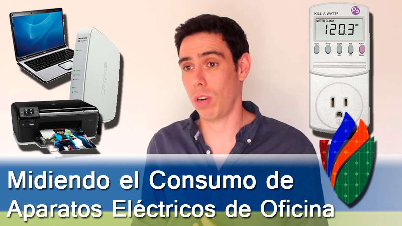 consumo aparatos el ctricos oficina youtube