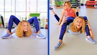 18 Lustige Gymnastikübungen Die Fehl Schlugen / Wenn Workouts Komisch Aussehen