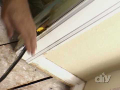 Door Frame and Jamb Removal-DIY - YouTube