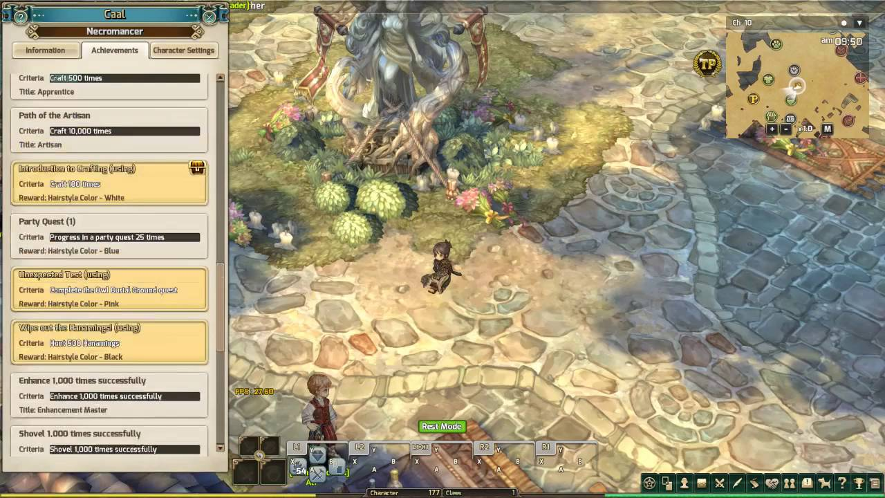Tree Of Savior White Hair Achievement YouTube - Hairstyle color tree of savior