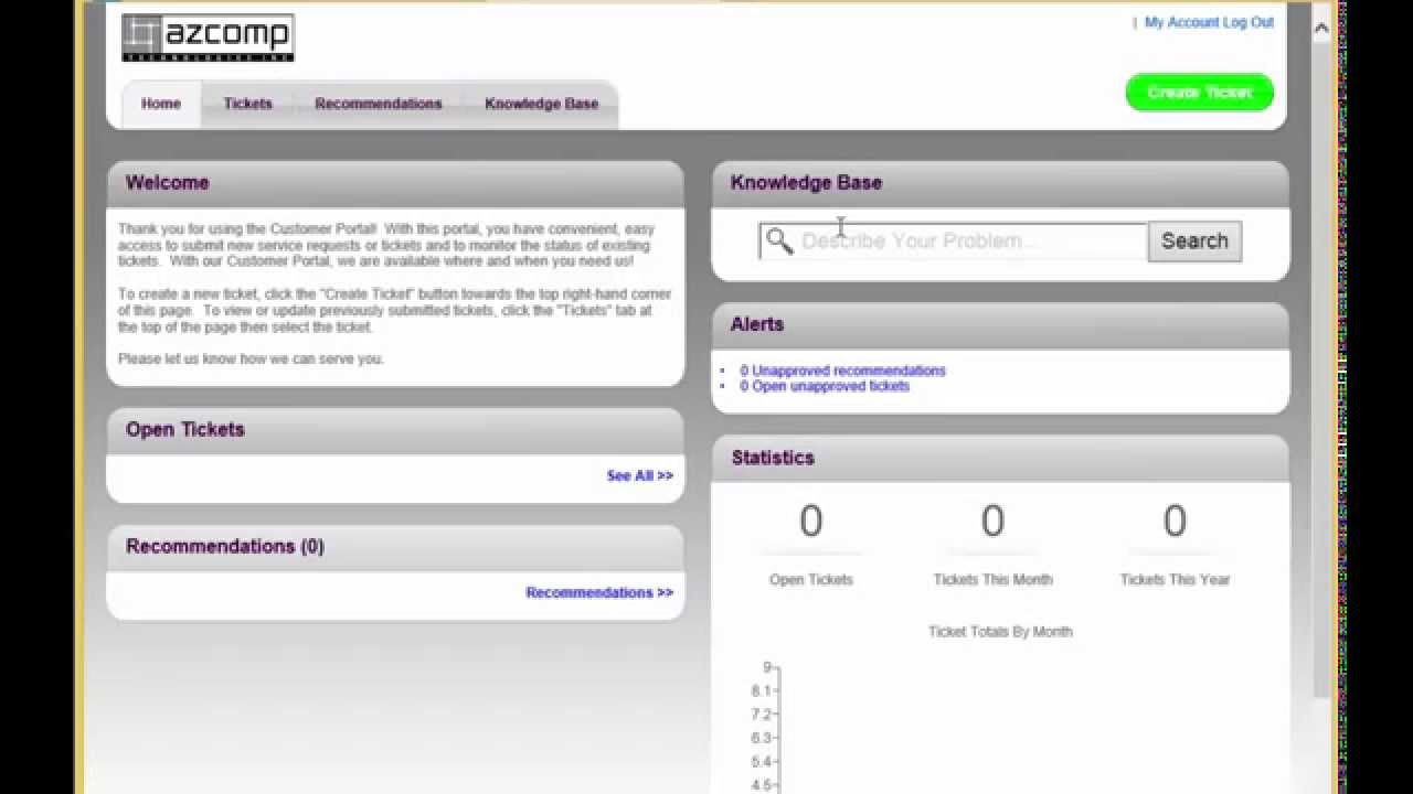 How To Create And Manage A Support Ticket On The Support Portal ...