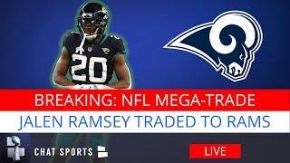 BREAKING: Jalen Ramsey Traded To Los Angeles Rams, Jacksonville Jaguars Get Multiple Draft Picks