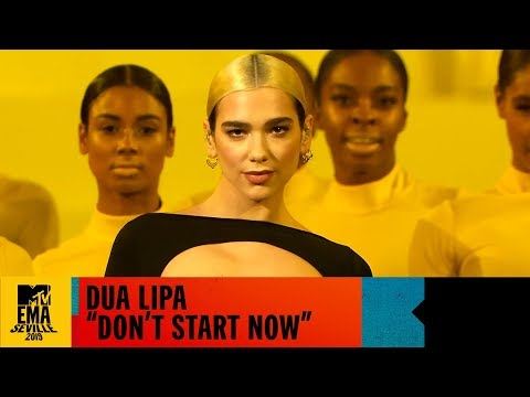 Dua Lipa Don't Start Now En Vivo | MTV EMA 2019