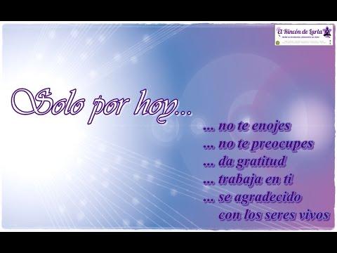 Canción - Solo Por Hoy... 5 Principios REIKI  de Sylvia Nuñez