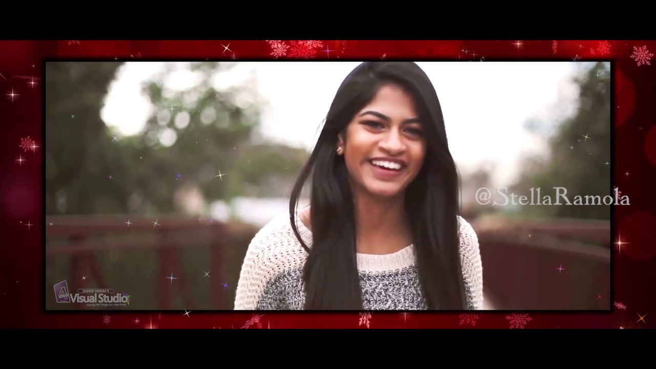 Kutty Kutty Poovai  Latest 2018 Tamil Christmas Song  Stella Ramola  Happy Christmas   David Varma  