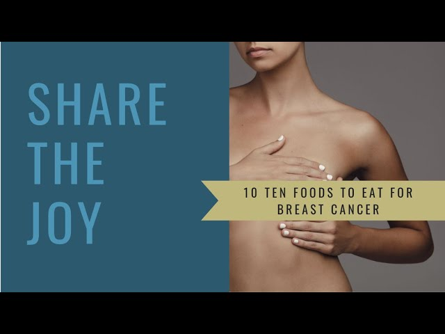 Share the Joy #140 How to protect our breasts through diet and lifestyle