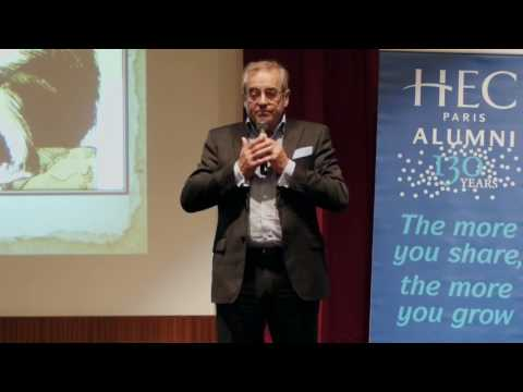 Conférence HEC - Darwin dans l'entreprise avec Pascal Picq - octobre 2015