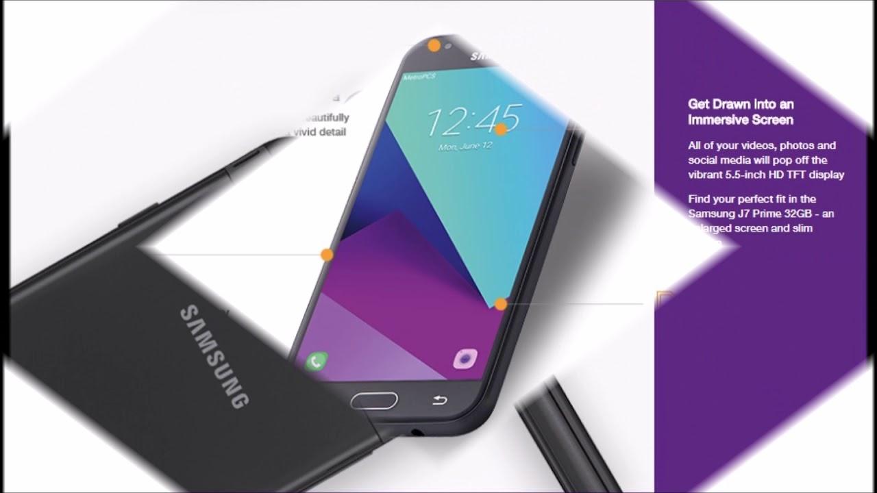 718c17d1c6 MetroPCS New Samsung Galaxy J7 Prime 32GB - YouTube