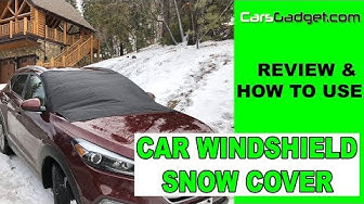 ❄️Magnetic Car Windshield Snow Cover for ice and snow❄️frost guard winter sun shade protector (2018)