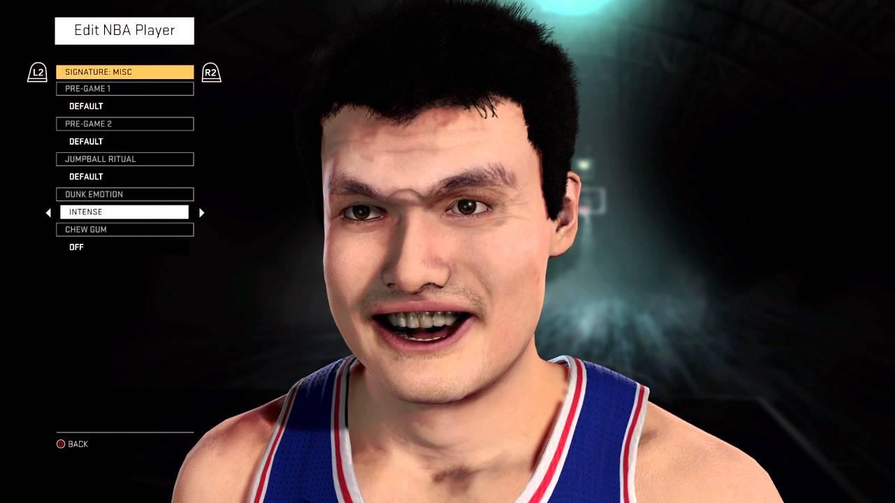 Yao Ming Face Yao Ming Dunk Face - Y...