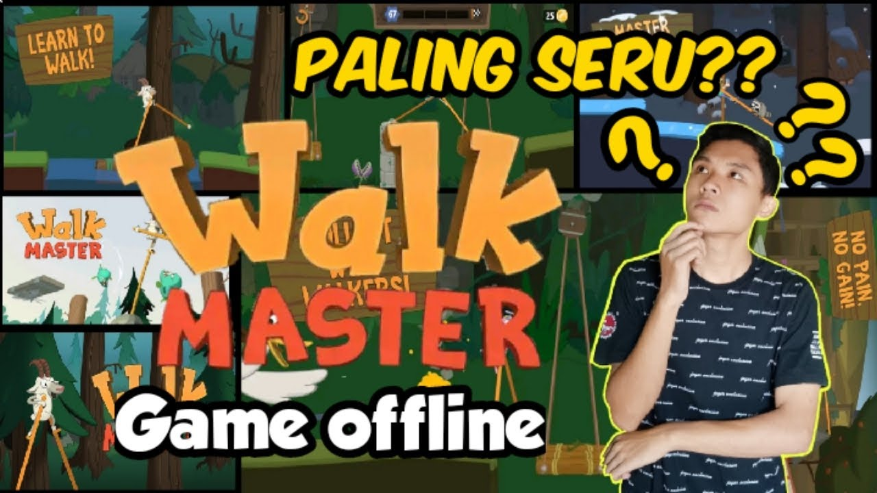 Game Offline Seru || Walk Master - YouTube