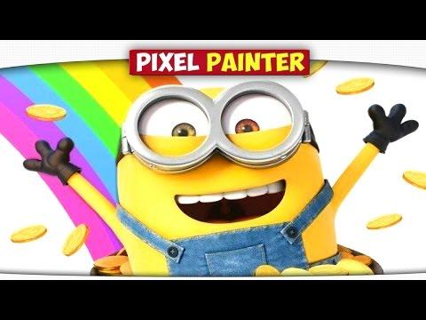Миньон, Время Приключений - Minecraft Pixel Painter