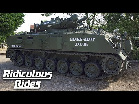 Take a Ride in This Tank Limo for Just $2000 a Day
