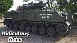 World's First Stretched Tank Limo | RIDICULOUS RIDES