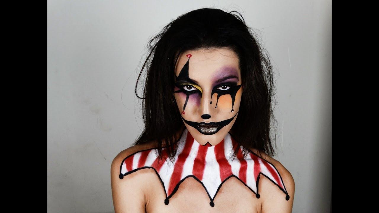 Frase Do Palhaco Do Mal: Maquiagem Halloween: Palhaço