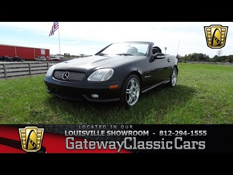 2003 Mercedes Benz AMG SLK320 - Louisville Showroom - Stock # 1982