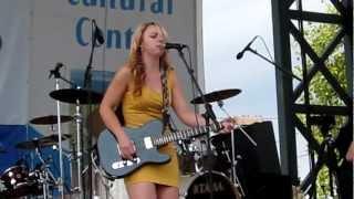 "Samantha Fish - ""Runaway"" Live King Biscuit Blues Festival"