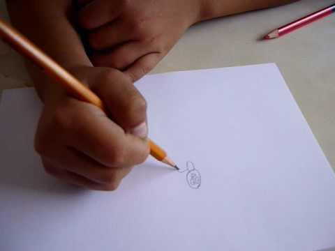 Nio de 6 aos Dibujo figura humana  YouTube