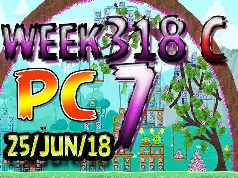 Angry Birds Friends Tournament Level 7 Week 318-C PC Highscore POWER-UP walkthrough