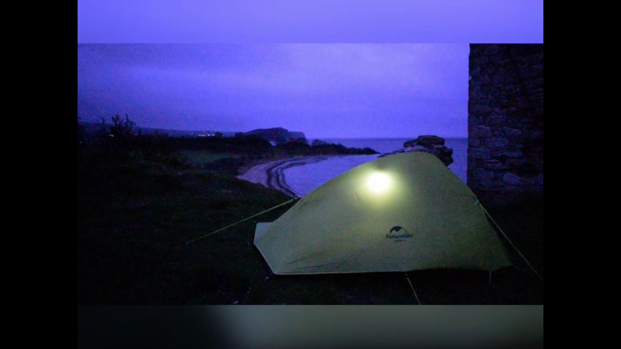 Wild camping Scotland, Ayrshire coast, castle camp - YouTube