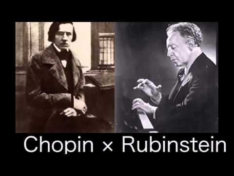 Arthur Rubinstein - Chopin Mazurka, Op  68 No  3 - ALL of