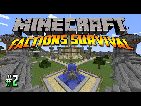 Minecraft Factions Survival #2: Se ni e Novo!! (Macedonian)
