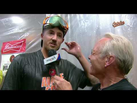 Kevin Gausman after leading O's in Game 162