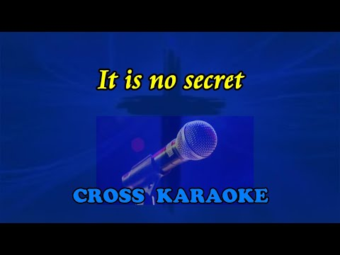 Jim Reeves - It is no Secret. Karaoke backing. by Allan Saunders.