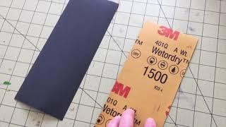Understanding The Different Grades of Sandpaper