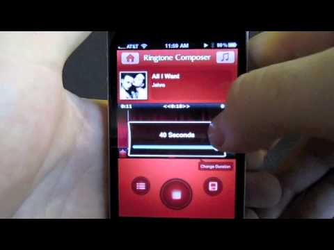 how to make a ringtone on iphone 6