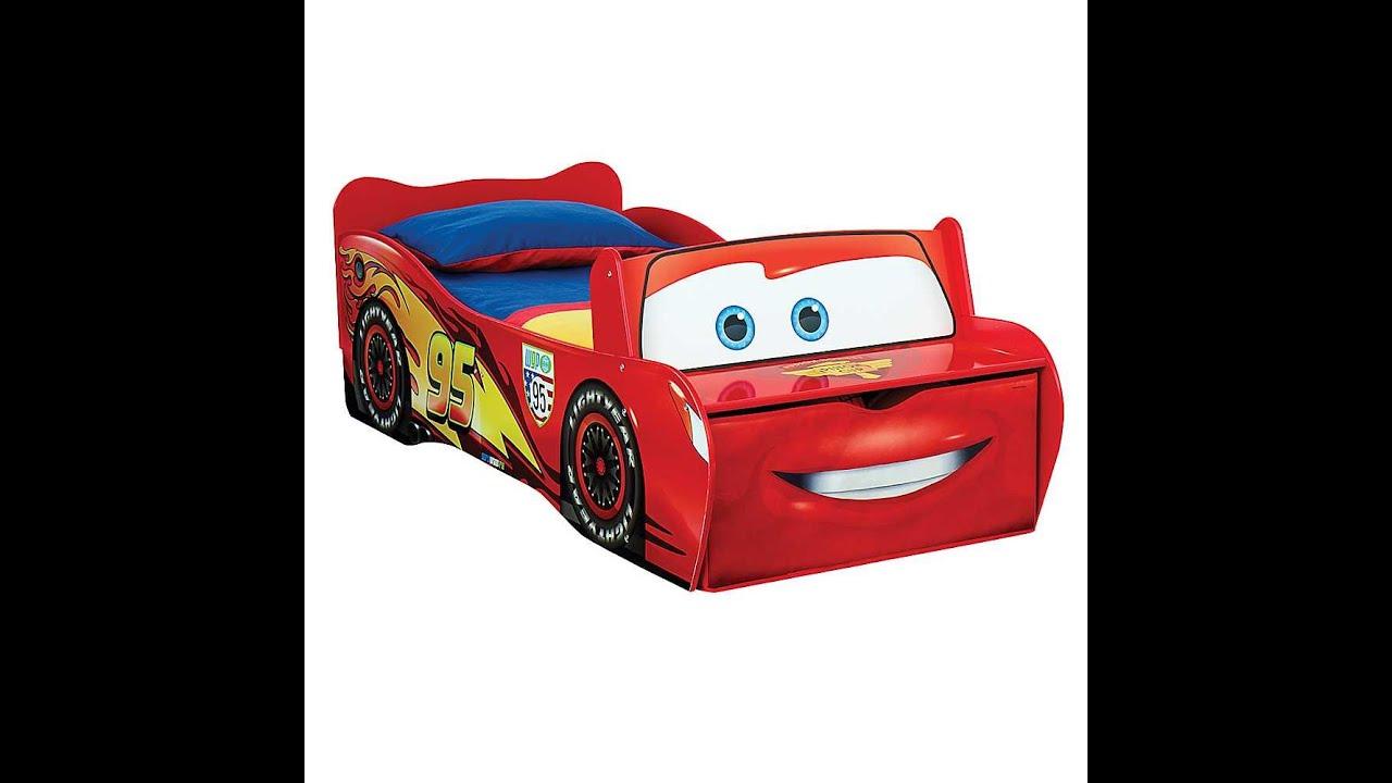 Disney pixar cars cama cuna para ni os youtube - Cama infantil cars ...