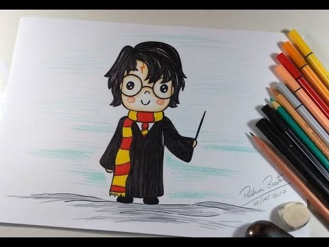 como desenhar harry potter cartoon kawaii passo a passo youtube como desenhar harry potter cartoon kawaii passo a passo