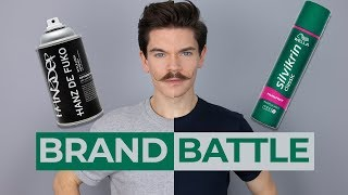 Hanz De Fuko Hairspray vs. Wella Silvikrin Classic   Brand Battle