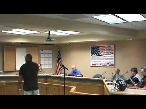 Centralia MO Public Safety and General Government Committee Meeting 10/8/12