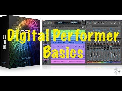 Digital Performer Basics: Episode #3  Track Groups, Preparing to Quantize Audio