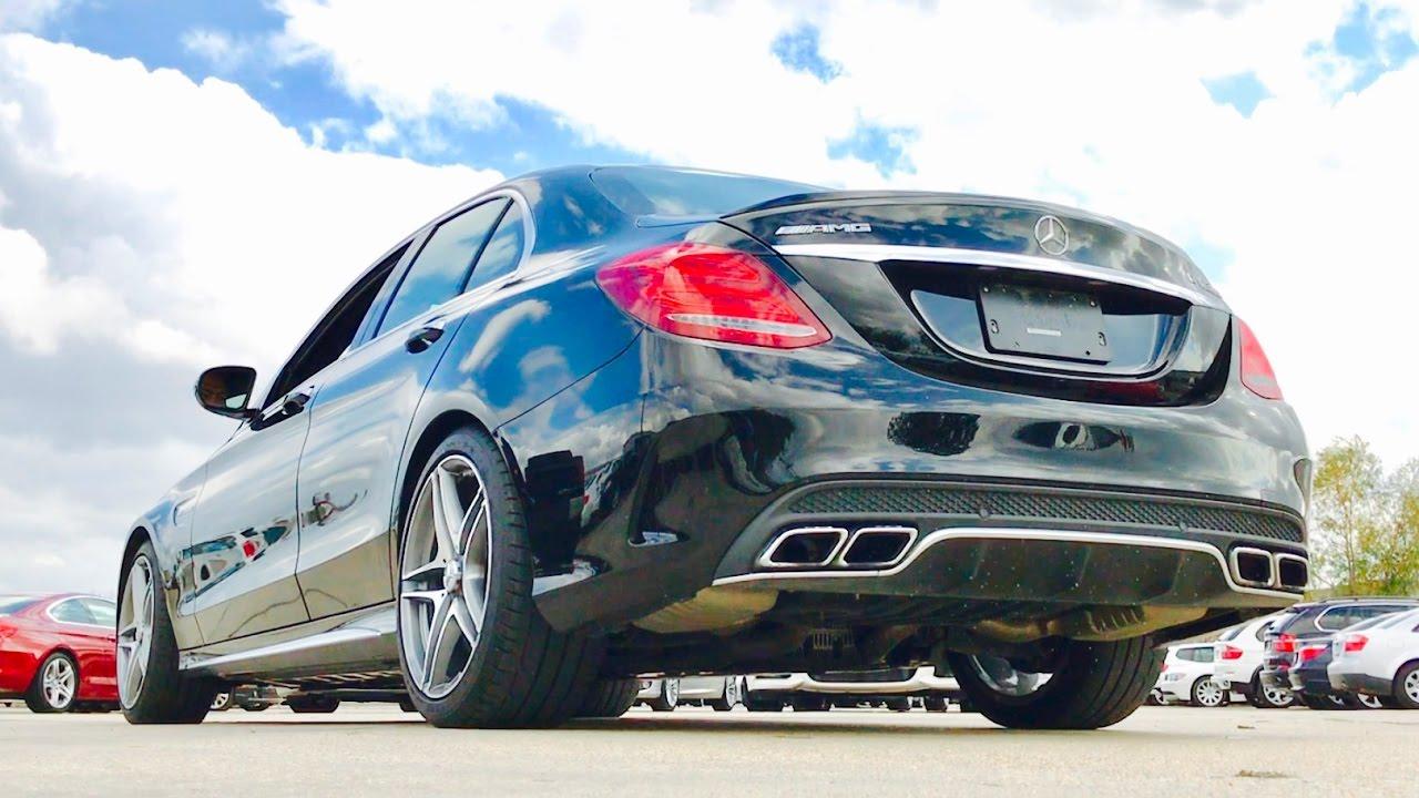 Sound 2017 mercedes benz amg c63s sedan start up exhaust for Mercedes benz c63s