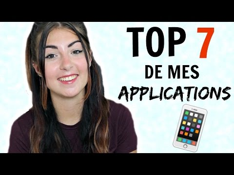 Top 7 de mes applications chouchou ! ♡