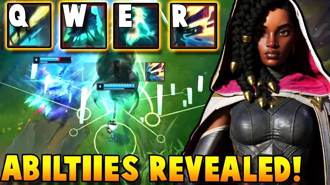 SENNA ABILITIES FINALLY REVEALED!! New Mechanics and ULTIMATE?   League of Legends thumbnail