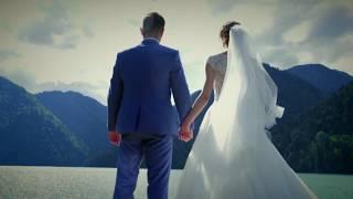 СВАДЬБЫ В АБХАЗИИ !!! Анна и Виталий 07.07.2017 Свадебная церемония на оз.Рица