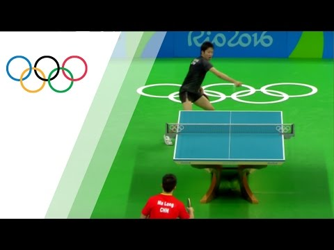 Memorable table tennis rally from China star Ma Long