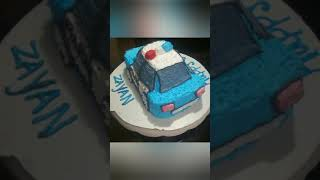 Police car cake