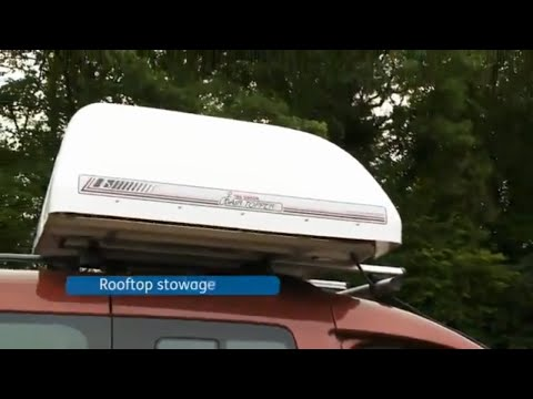 Motability Adaptations - Rooftop stowage