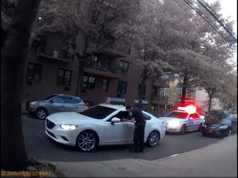"""110Pct NYPD Officers Illegally writing Bougus Tickets for Vehicle Tint without """"Window Tint Meter"""""""