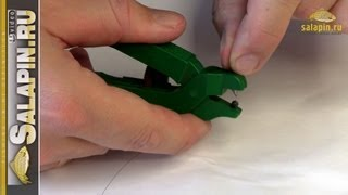 Приспособление для снятия грузил [salapinru](Очень нужное приспособление, помогает и снять и прослабить грузила, зажатые на леске, например, при изготов..., 2013-03-06T06:36:11.000Z)