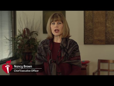 2019 Volunteer Appreciation Message | Nancy Brown, American Heart Association CEO